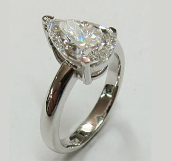 How To Make Pear Shaped Bezel For A Ring