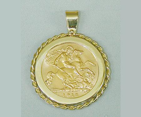 Making coin frame pendant making a reversible coin frame pendant aloadofball Choice Image