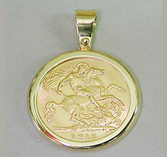 Making coin frame pendant reversible coin frame pendant aloadofball Choice Image